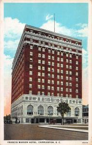 Francis Marion Hotel, Charleston, South Carolina, Early Postcard, Unused