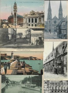 France Lille Saint Raphael Annecy Obernai And More Postcard Lot of 50 01.09