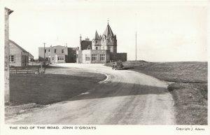 Scotland Postcard - The End of The Road - John O'Groats - Caithness  DR305