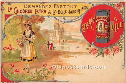Advertising Postcard - Old Vintage Antique  La Chicoree Extra