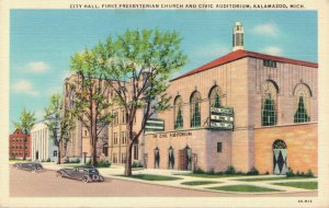 USA City Hall First Presbyterian Church And Civic Auditorium Kalamazoo 03.30