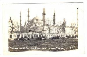 RP; Mosque of St Sophia, Constantinople , Turkey, 00-10s