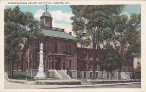 Maine Auburn Androscoggin County Building