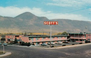 KAMLOOPS, British Columbia, 1950-1960s; Scott's Motor Inn