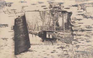 RP: MIDDLESEX FELLS , Massachusetts, 00-10s ; Wooden Bridge