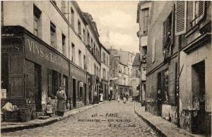 CPA PARIS (18e) Montmartre. Rue Norvins (538125)