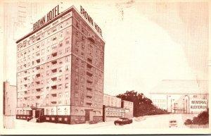 Iowa Des Moines The Brown Hotel 1967