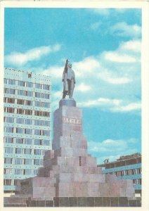 Uzbekistan Samarkand monument to v i lenin architecture Postcard