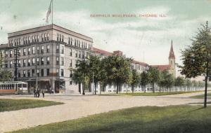 CHICAGO , Illinois , 1908 ; Garfield Boulevard