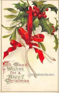Holiday Postcards Writing on back