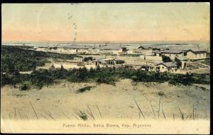 argentina, BAHIA BLANCA, Puerto Militair (1907)