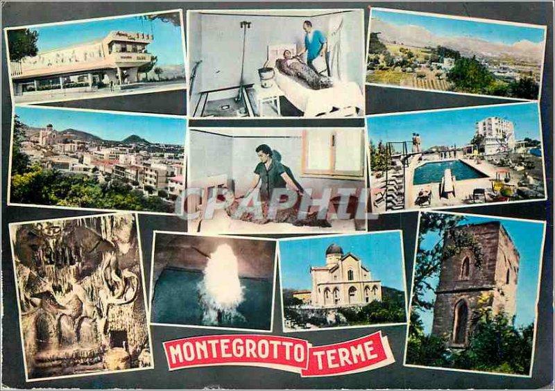 Postcard Modern Montegrotto Terme