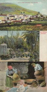Las Palmas Industria Canaria 3x Postcard s