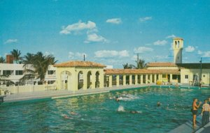 FORT LAUDERDALE , Florida, 1950-60s ; City Olympic Size Swimming Pool