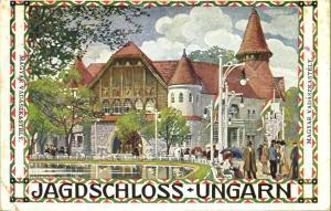 Internationale Jagd-Ausstellung Wien, Hungarian Hunting Lodge 1910 Kalmsteiner