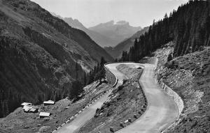 Die Sustenstrasse Feldmoos, Blick in's Haslital Road Landscape