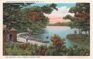 New York Rye The Boating Lake Tibbetts Brook Park