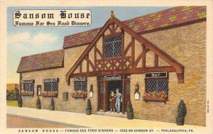 Pennsylvania   Philadelphia   Sansom House Restaurant