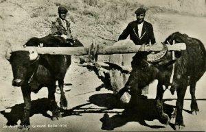 iraq, BAGHDAD BAGDAD, Primitive Ground Roller (1950s) Postcard