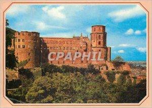 The Modern Postcard Heidelberg Castle Looking East