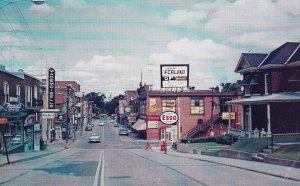 DRUMMONDVILLE, Quebec, Canada, PU-1969; ESSO Rexall Drug Store, Rue Heriot