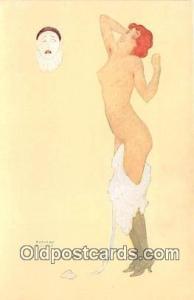 # 7 Les Peches Capitaux La Paresse Artist Raphael Kirchner Postcard Postcard ...