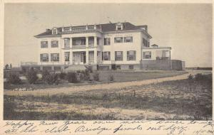 Toledo Ohio Yacht Club Street View Antique Postcard K33938