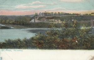 ST. PAUL , Minnesota , 1901-07 ; Fort Snelling ; TUCK # 2202