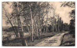 1926 West Shore Drive, Twin Lakes, CT Postcard