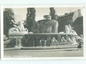 old rppc NICE VIEW Munich - Munchen - Bavaria Germany i1736