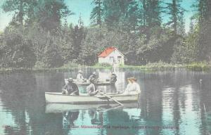 Grant County Oregon Blue Mountain Hot Springs Scenic View Postcard JA4741968