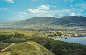 View From The Lookout Penticton British Columbia Canada
