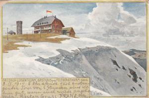 BADEN WURTTEMBERG, Germany, PU-1900; Freidrich-Luisenthurm Gasthaus zum Feldberg