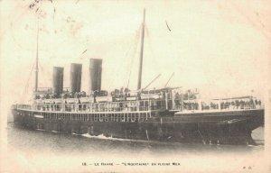 Nautica Passenger ship Le Havre L'Aquitaine en Pleine Mer 3.30