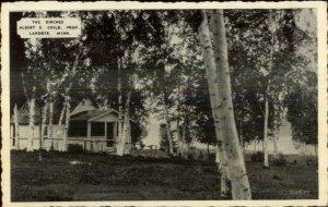 LaPorte La Porte MN The Birches Postcard