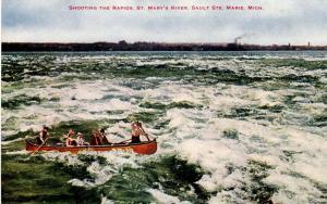 MI - Sault Ste. Marie. Saint Mary's River, Shooting the Rapids