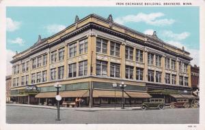 BRAINERD , Minnesota , 10-20s; Iron Exchange Building