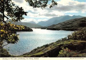 Ireland Evening on The Lakes of Killarney Co. Kerry Panorama