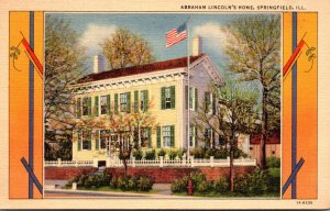 Illinois Springfield Abraham Lincoln's Home Curteich