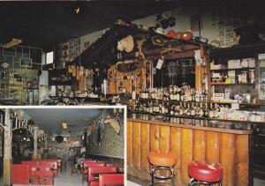 Interior Restaurant and Bar, The Bar With Walls of Money, The Glacier Inn, Hy...