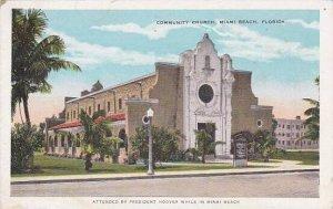 Florida Miami Beach Community Church