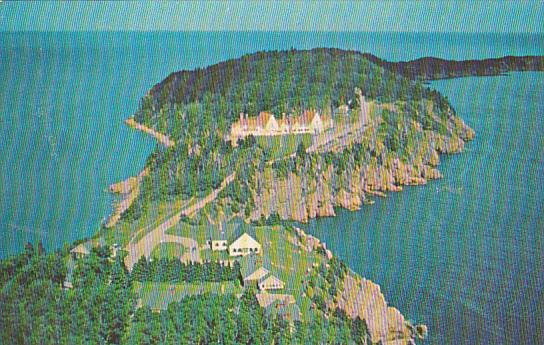Canada Nova Scotia Cape Breton Aerial View Of Keltic Lodge