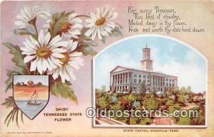 Daisy, State Capitol Nashville, TN, USA Postcard Post Card Nashville, TN, USA...