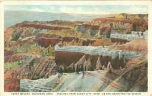 Cedar Breaks, Southern Utah, Union Pacific System 1933 us...