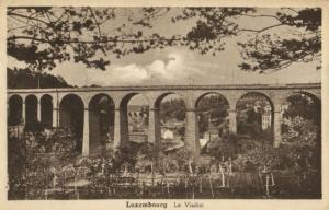 CPA Luxembourg Le Viaduc (30651)