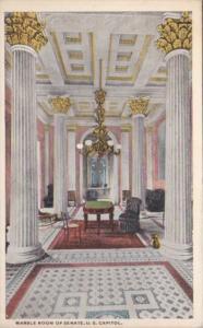Washington D C Marble Room Of Senate U S Capitol