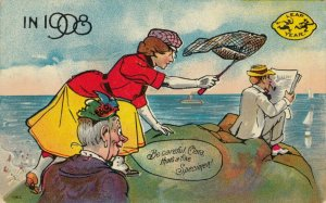 LEAP YEAR, 1908; That is a fine specimen!