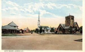 NH - Laconia.  Depot Square