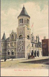 Augusta ME -  Post Office, 1900s