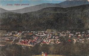 Romania Sinaia, Vedere generala, panorama 1922